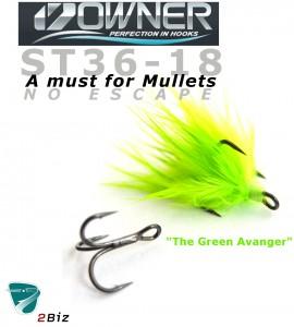 """""""The Green Avanger"""" bundet på st56 str 18"""